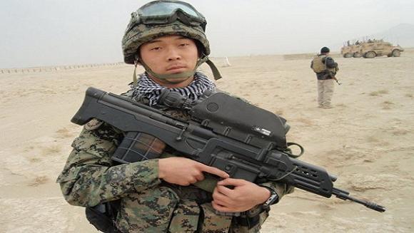 """Hàn Quốc trang bị súng trường """"khủng"""" có khả năng phóng lựu ảnh 1"""