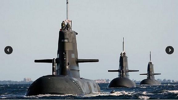 Australia nâng cấp tàu ngầm lớp Collins ảnh 1