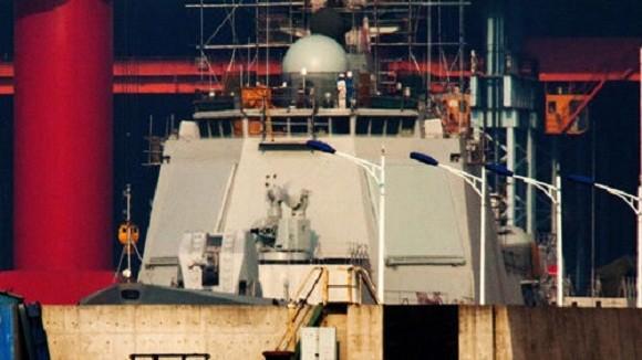 Khu trục hạm 052D trang bị radar mảng pha chủ động kiểu mới ảnh 2