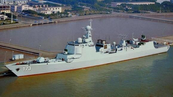 Khu trục hạm 052D trang bị radar mảng pha chủ động kiểu mới ảnh 1