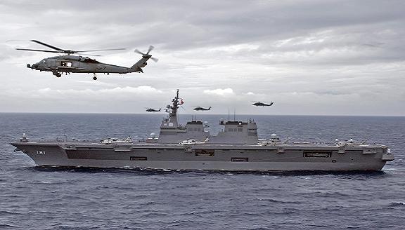 Nhật thách đố: Trung Quốc bỏ vũ khí hạt nhân, Nhật sẽ hủy quyền tự vệ tập thể ảnh 1