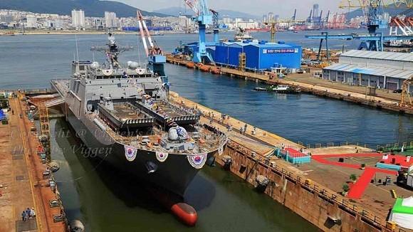 Hàn Quốc đóng tàu LST, tăng cường năng lực đổ bộ đánh chiếm đảo ảnh 2
