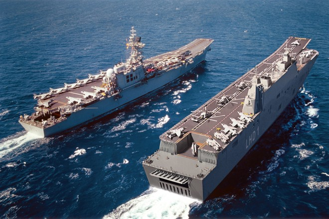 Thổ Nhĩ Kỳ mạnh tay đóng tàu sân bay trực thăng kiểu Tây Ban Nha ảnh 1