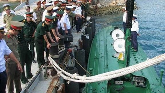 Giải mật về bộ đôi tàu ngầm mini của Việt Nam ảnh 1