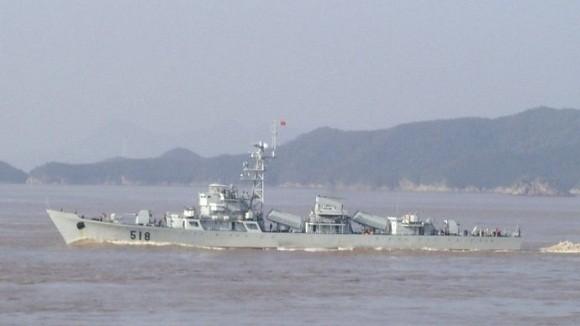 Trung Quốc biên chế tàu hộ vệ Type 056 thứ 9 ảnh 2