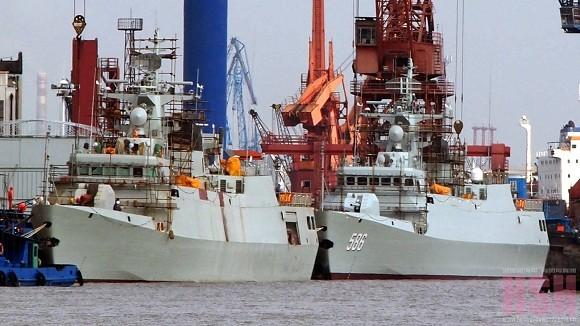 Trung Quốc biên chế tàu hộ vệ Type 056 thứ 9 ảnh 1