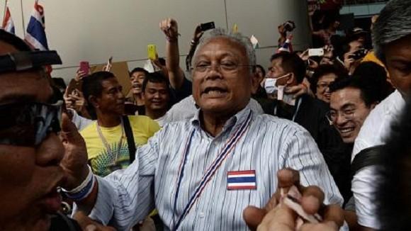 """Thái Lan: Phe đối lập dự định """"hạ gục"""" chính phủ trong tháng 1 ảnh 1"""