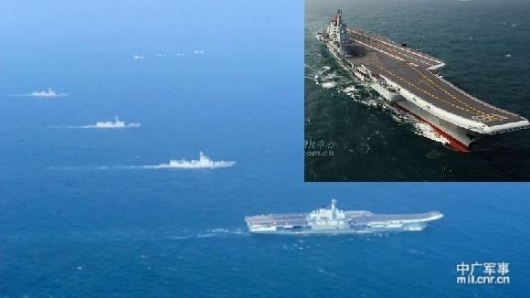 Trung Quốc sẽ bố trí tại biển Đông 2 tàu sân bay? ảnh 1