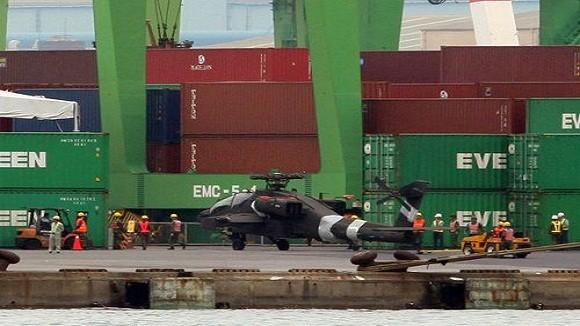 Đài Loan nhận tiếp 6 chiếc trực thăng vũ trang Apache ảnh 1