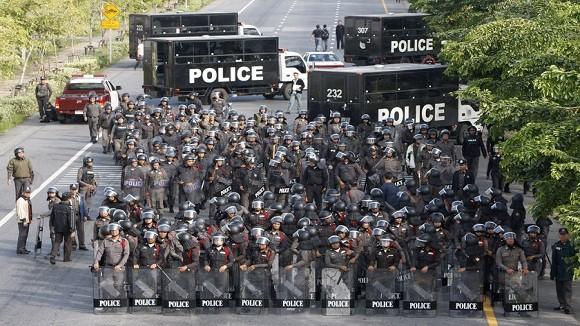 Thái Lan huy động 15.000 binh lính và cảnh sát đối phó đại biểu tình ảnh 1