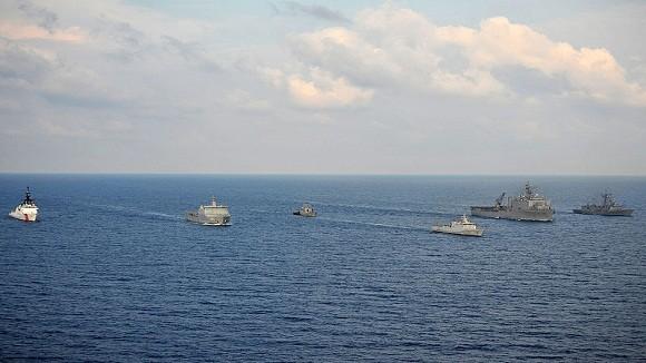 Tập trận chung hải quân ASEAN+8 quy tụ 40 chiến hạm khủng ảnh 1