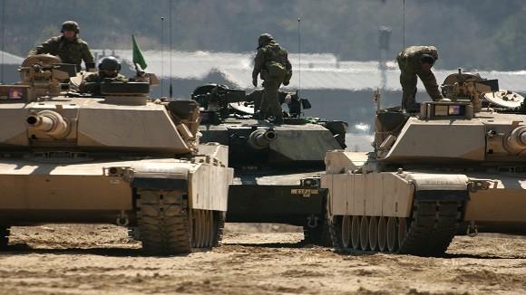 Triều Tiên bất ổn, Mỹ điều thêm xe tăng và 800 quân tới Hàn Quốc ảnh 1