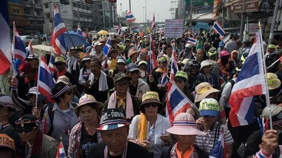 Xả súng vào đoàn biểu tình ở Thái Lan làm 7 người bị thương ảnh 1