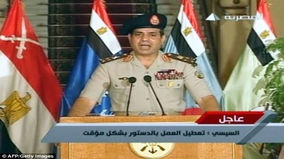 """Tư lệnh Quân đội Ai Cập """"bóng gió"""" về khả năng tranh cử tổng thống ảnh 1"""