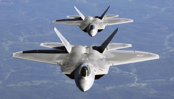 Mỹ liên tiếp điều 24 chiếc F-22 và F-16 tới bán đảo Triều Tiên ảnh 1