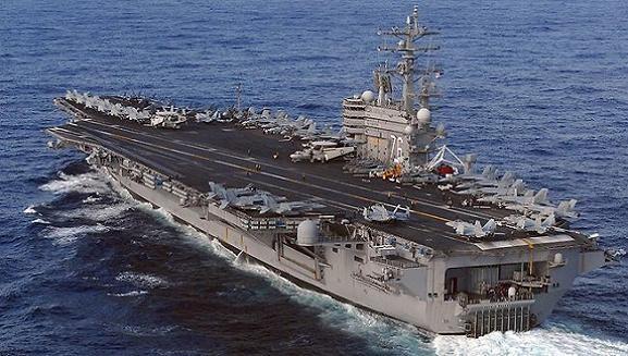 Mỹ triển khai luân phiên tàu sân bay hạt nhân tới Nhật Bản ảnh 1