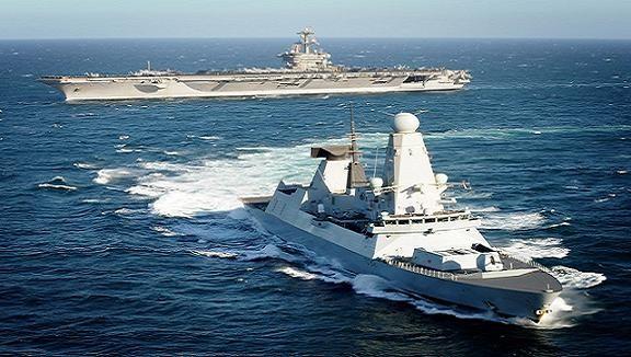 Tàu khu trục HMS Daring của Anh thăm Indonesia ảnh 1
