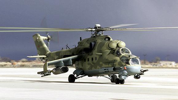 Nga thành lập phi đội trực thăng tấn công tại Armenia ảnh 1