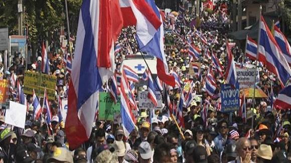 Bắt giữ thủ lĩnh biểu tình Suthep Thaugsuban không dễ ảnh 1