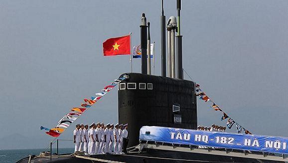 Tàu ngầm Kilo TP Hồ Chí Minh tới Kaliningrad chuẩn bị về nước ảnh 1