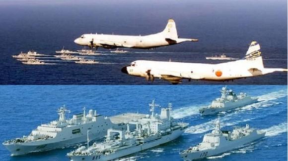 """3 tướng Nhật tuyên bố chiến hạm Trung Quốc chỉ làm """"bia ngắm bắn"""" ảnh 1"""