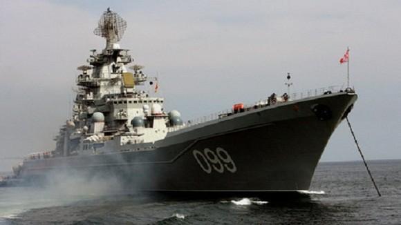 Hải quân Nga, Trung diễn tập tại Địa Trung Hải ảnh 1
