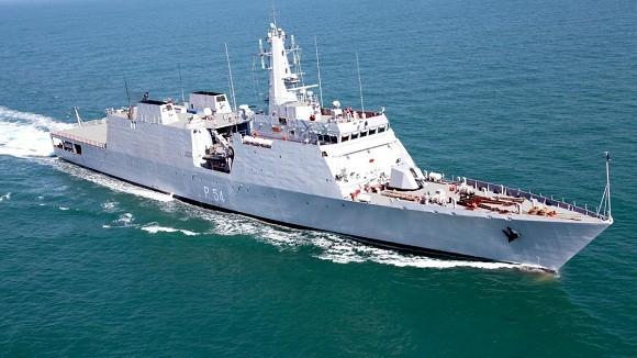 """Hải quân Ấn Độ nhận tàu tác chiến ven bờ thứ ba lớp """"Saryu"""" ảnh 1"""