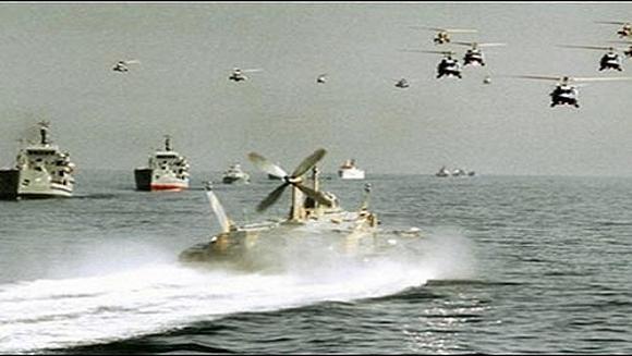 Iran lần đầu triển khai biên đội tàu chiến tới Đại Tây Dương ảnh 1