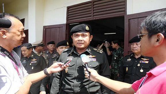 """Quân đội Thái """"có thể can thiệp nếu tình hình vượt quá kiểm soát"""" ảnh 1"""