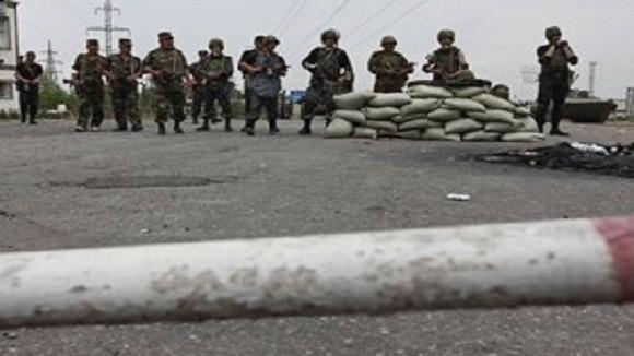 Biên phòng Kyrgyzstan đấu súng với một số phần tử vũ trang ảnh 1