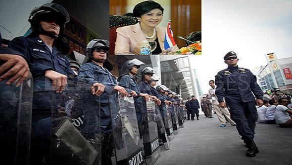 Người biểu tình treo thưởng để bắt Thủ tướng Yingluck và sếp cảnh sát Thái Lan ảnh 1