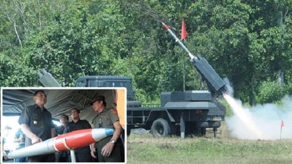 Lục quân Indonesia tự nghiên cứu phát triển tên lửa ảnh 1