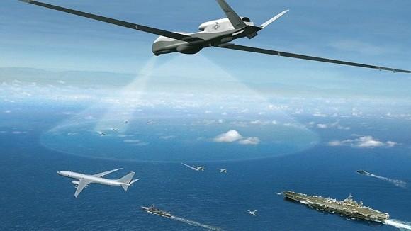 Mỹ sẽ triển khai 2 chiếc UAV Global Hawk tới Nhật Bản ảnh 1