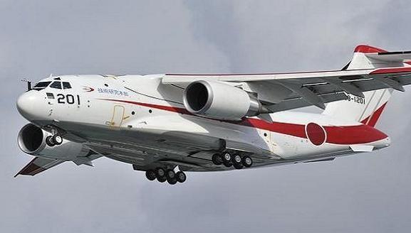 """Máy bay vận tải XC-2 của Nhật bị """"bóp méo"""" khi thử áp suất cao ảnh 1"""