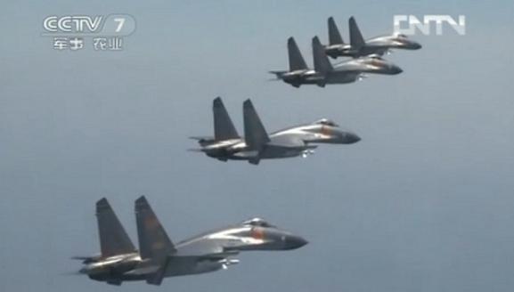 Chiến đấu cơ Trung Quốc tăng cường tuần tra ADIZ, dằn mặt máy bay nước ngoài ảnh 1
