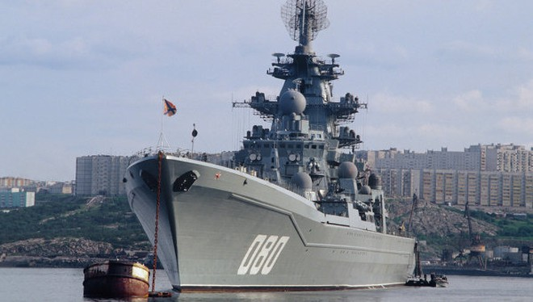 Nga khôi phục siêu tuần dương hạm lớn nhất, mạnh nhất thế giới ảnh 1