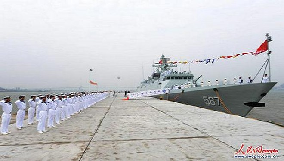 Trung Quốc biên chế tàu hộ vệ Type 056 thứ 10 cho Hạm đội Nam Hải ảnh 2