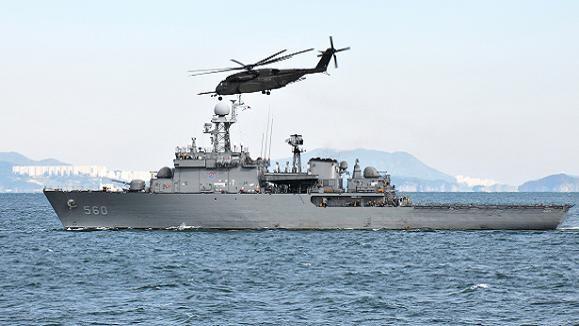 Hàn Quốc điều tàu 3.500 tấn tham gia diễn tập hải ngoại ảnh 1