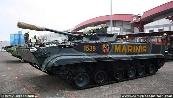 Indonesia tiếp nhận 37 xe bọc thép lội nước BMP-3F của Nga ảnh 1