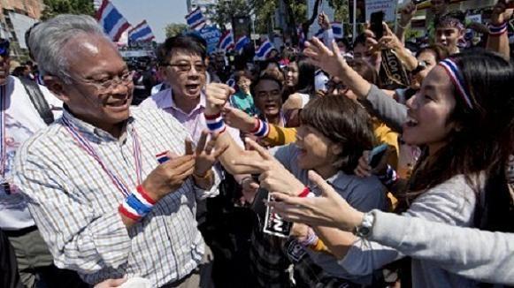 Thủ lĩnh biểu tình Suthep sẽ bị bắt ngay sau bầu cử ảnh 1