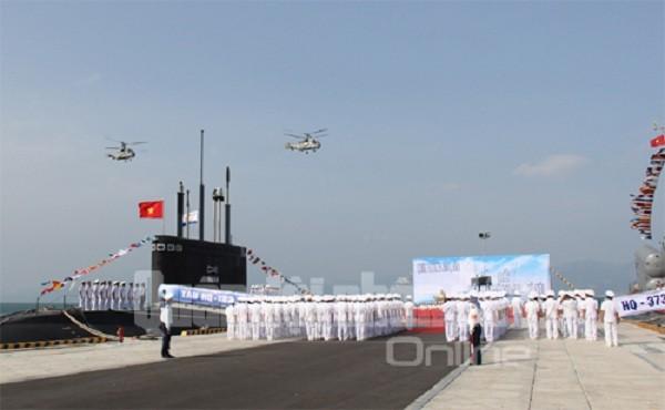 Tàu ngầm Kilo TP Hồ Chí Minh bắt đầu về nước ảnh 1