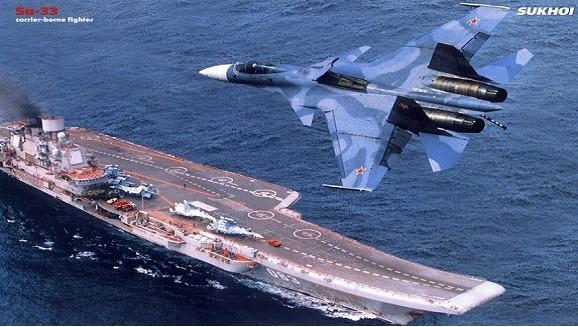 Siêu tàu sân bay Nga sẽ là đối thủ đáng gờm của Mỹ ảnh 1