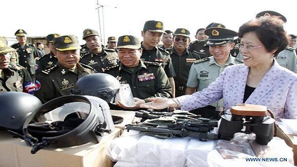 Trung Quốc tiếp tục viện trợ quân sự cho Campuchia ảnh 2