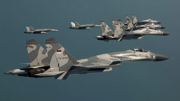 """Máy bay chiến đấu Nga đang dần """"phủ sóng"""" khu vực Đông Nam Á ảnh 2"""