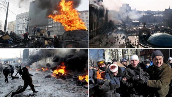6 nhà báo thương vong tại Kiev ảnh 1