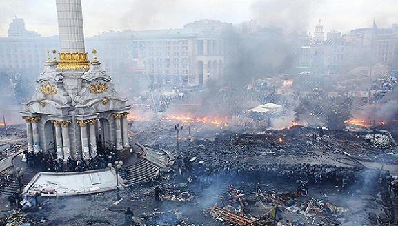 Bạo lực quê nhà đánh gục Đoàn thể thao Olimpic Ukraine ảnh 1