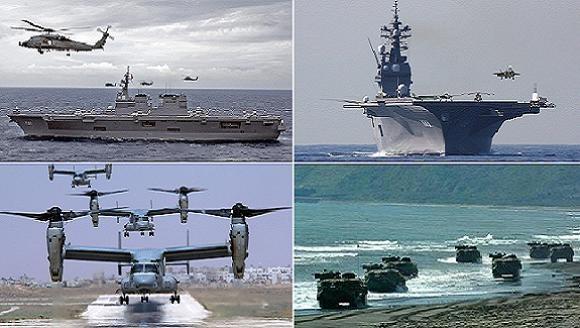 Nhật đủ khả năng đè bẹp 2 lữ hải quân đánh bộ Trung Quốc ở Senkaku ảnh 1