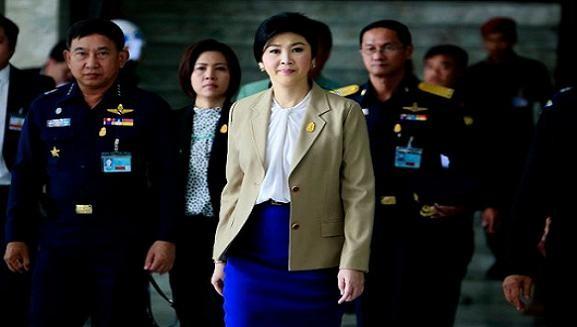 Thủ tướng Yingluck buộc phải thay đổi chỗ ở liên tục ảnh 1