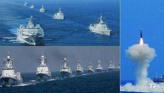 """Diễn tập """"Naval Interaction 2014"""" thắt chặt """"mối tình Nga-Trung""""? ảnh 1"""