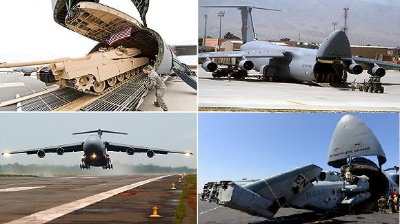 Mỹ nâng cấp 16 siêu máy bay vận tải C-5M Super Galaxy ảnh 1